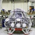 Současný stav lodi Orion, která jako první poletí na raketě SLS.