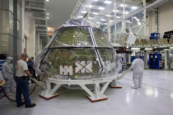 Orion pro misi EM-1