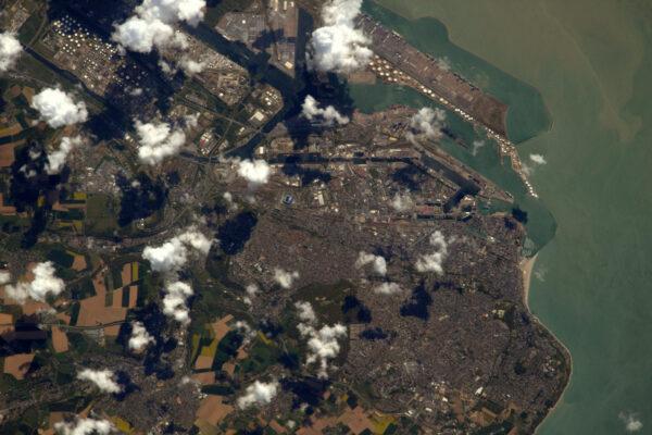 Pobřežní město Le Havre v mé domovské Normandii. Jsem hrdý na to, že je to jedno z nejzelenějších měst ve Francii a letos slaví své 500. narozeniny!