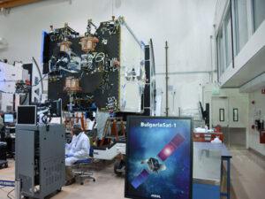 Stavba družice BulgariaSat-1