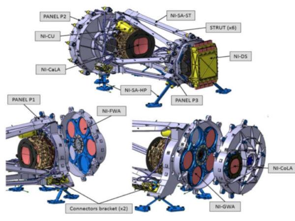 Vnitřní konstrukce přístroje NISP