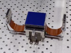 Detektory pro přístroj VIS dorazily už v únoru 2017.