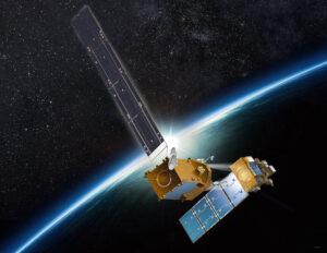 Vizualizace satelitu Restore-L u družice Landsat-7
