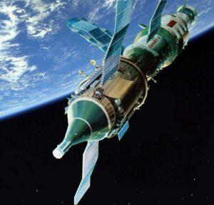 Saljut 7 s Kosmosem-1443