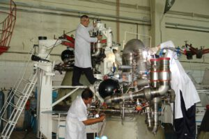 Snímek z Voroněžského strojírenského závodu (VMZ)