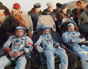 Unavení a zklamaní kosmonauti po přistání