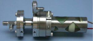 Obr. 9 – Piezoelektrický mikroventil pro regulaci průtoku paliva koloidní trysky.