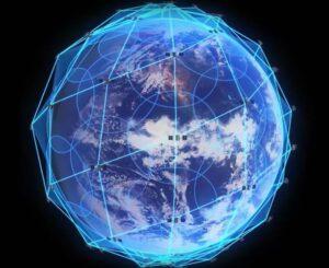 Pokrytí světa systémem Iridium