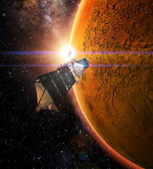 MAVEN zkoumá atmosféru Marsu