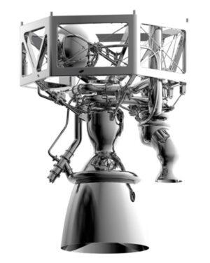 Návrh motoru Prometheus z roku 2017