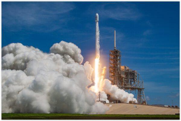 Falcon 9 vynáší BulgraiSat