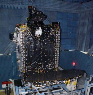BulgariaSat-1 při pozemních zkouškách