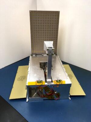 Prototyp cubesatu od týmu CU-E3.