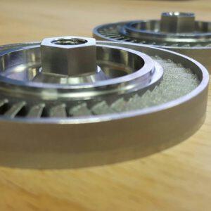 Kolečka turbočerpadel po 3D tisku