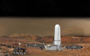 Tento návrh zařízení pro start z Marsu pochází z roku 1999.