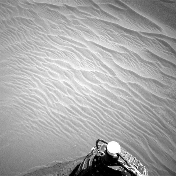 Duna u vozítka Curiosity