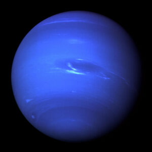 Neptun vyfocený sondou Voyager 2