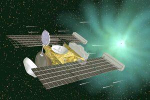 Umělecká představa sondy Stardust