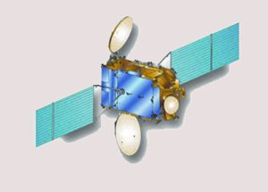 Vizualizace družice AMC 9