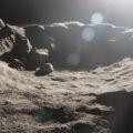 Simulace měsíčního povrchu