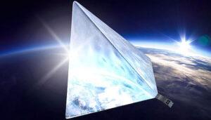 Cubesat Majak v rozloženém stavu.