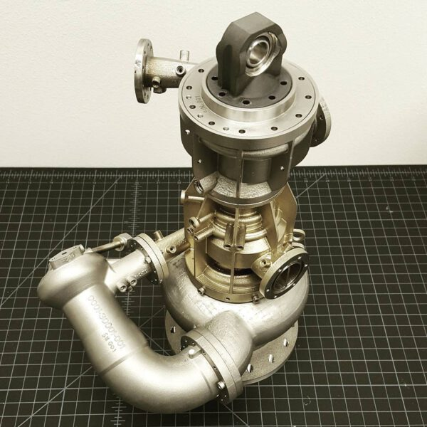 Srdce - tzv. powerpack - motoru Hadley.