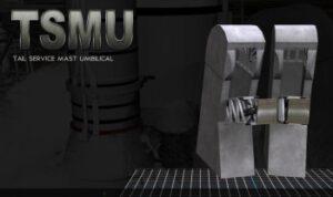 Jednotky TSMU se připojení ke spodní části centrálního stupně a zajistí jeho tankování.