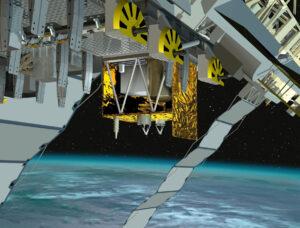 ACES na ISS - zatím jen jako vizualizace