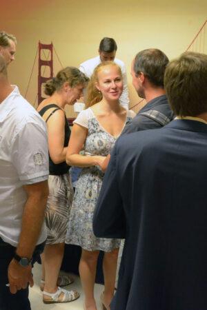 Jana Šmotková uprostřed