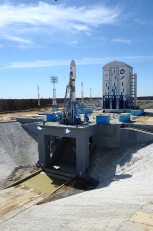 Rampa 1S na kosmodromu Vostočnyj