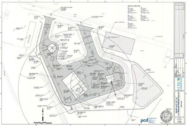 Detailní plán nové oblasti.
