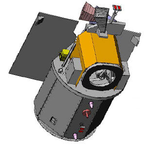 3D model družice Formosat-5
