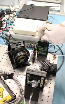Testování funkčnosti přístroje European Laser Timing