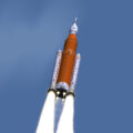 Nová a zřejmě definitivní podoba rakety SLS pro misi EM-1