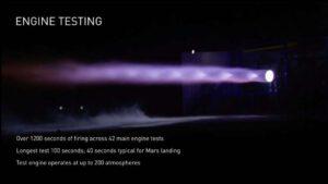 Testovací program motoru Raptor