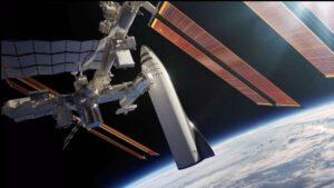 BFR připojen k ISS