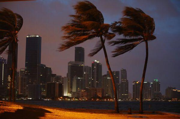 Miami v sobotu 9. září ráno místního času.