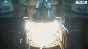 Zážeh motoru Vulcain neproběhl podle plánu.
