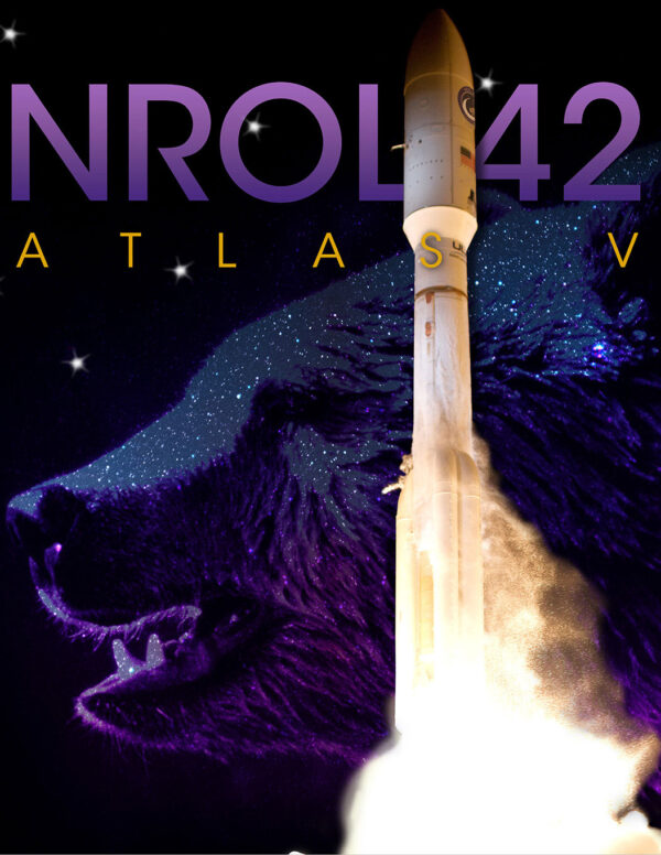 Plakát mise NROL-42.