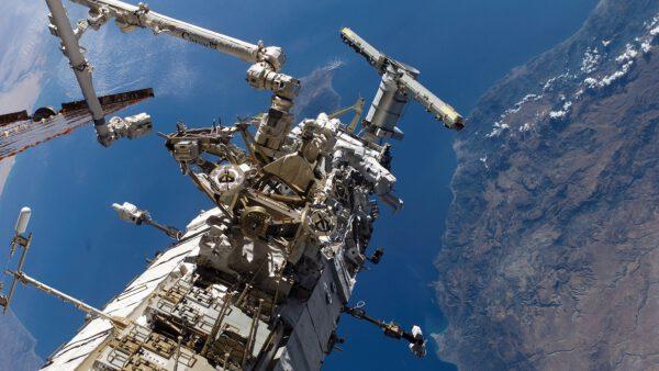 Mezinárodní vesmírná stanice je divem moderní architektury.