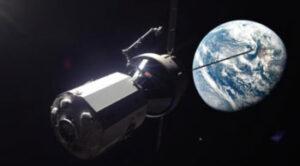 Orion s modulem Hab