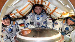 Loď Sojuz neposkytuje příliš pohodlí