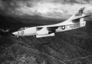 A-3 Skywarrior během Vietnamského konfliktu