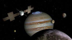 Sonda Juice se vydá zkoumat Jupiter a jeho měsíce