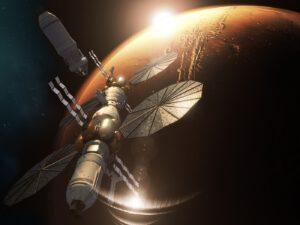 Představy Lockheed Martin o cestě k Marsu