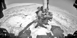 17. října se vrták roveru Curiosity po deseti měsících dotkl povrchu Marsu.
