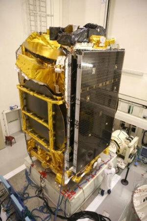 Eutelsat-172B při testování