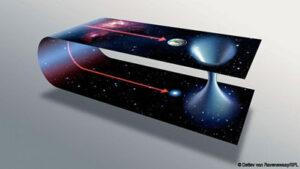 Červí díry by mohly zkrátit cestování z jednoho místa našeho vesmíru na jiné