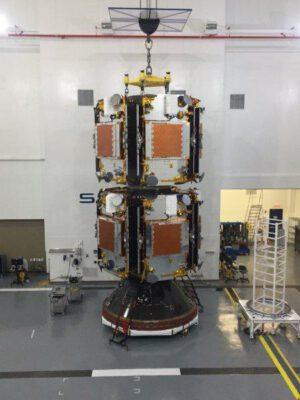 Třetí várka družic Iridium NEXT
