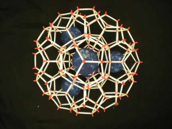 Model klatrátu (hydrátu)